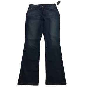 NWT NYDJ Not Your Daughter's Mini Bootcut Jeans 6